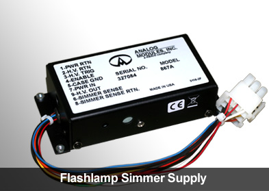 Flashlamp Simmer Supply